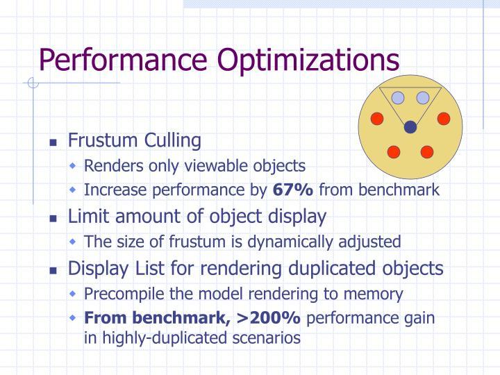 Performance Optimizations