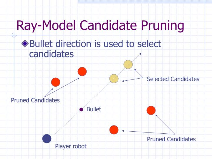 Ray-Model Candidate Pruning