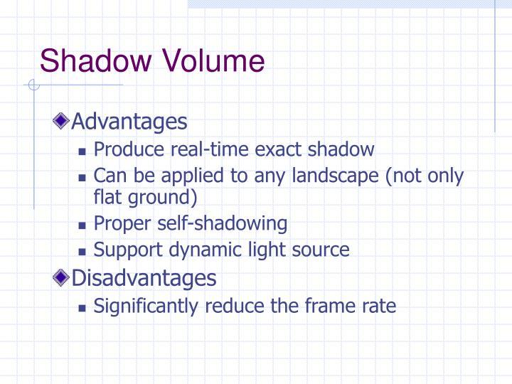 Shadow Volume