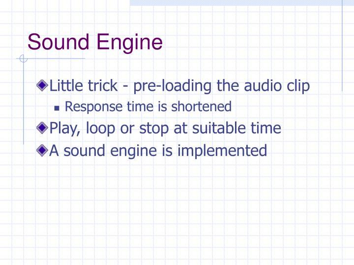 Sound Engine