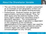 about the shorefactor variable1