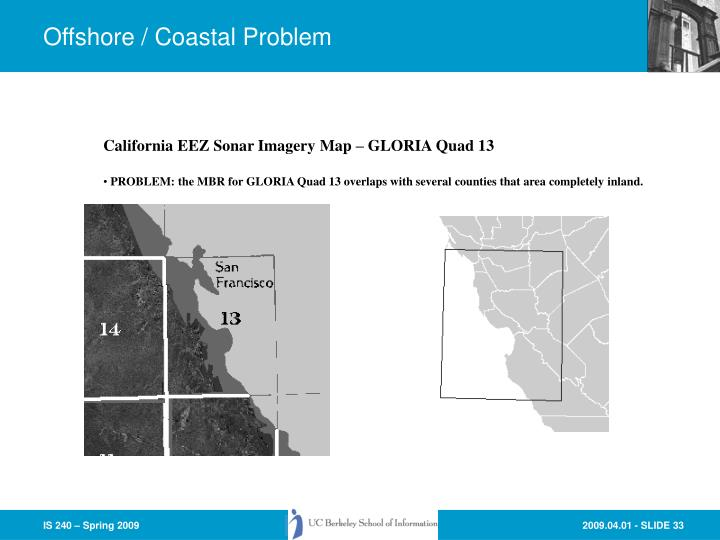 Offshore / Coastal Problem