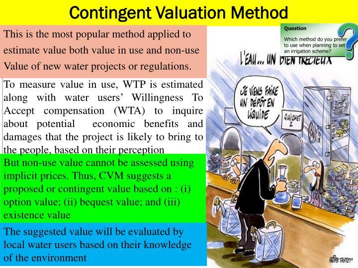 Contingent Valuation Method