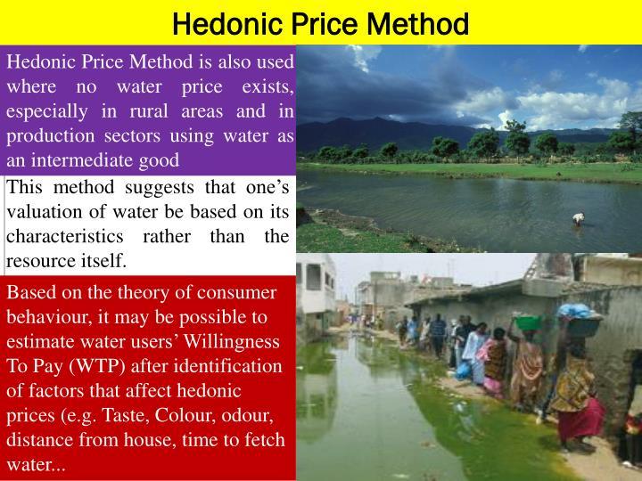 Hedonic Price Method