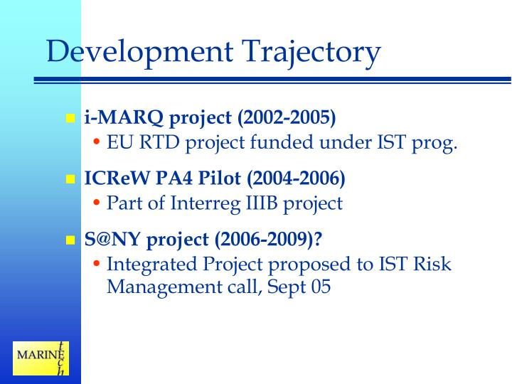 Development Trajectory
