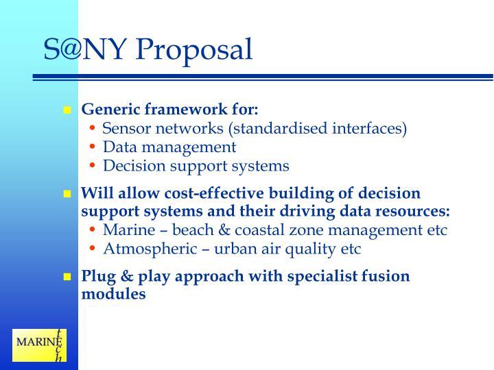 S@NY Proposal