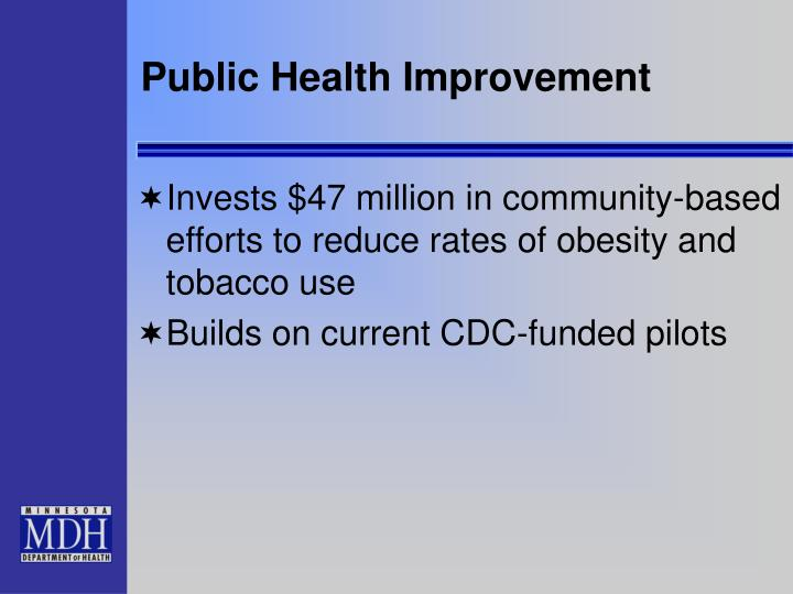 Public Health Improvement