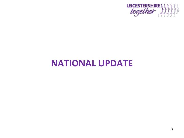 National update