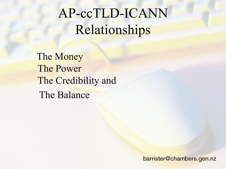 AP-ccTLD-ICANN
