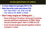exam question 3f 20011
