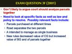 exam question 3f 20013