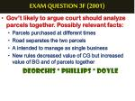exam question 3f 20014