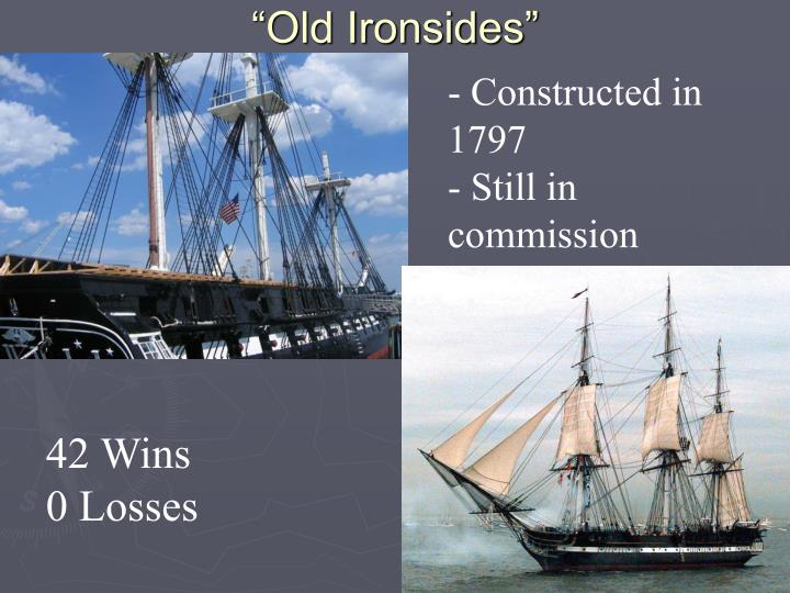 """Old Ironsides"""
