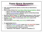 trans space dynamics