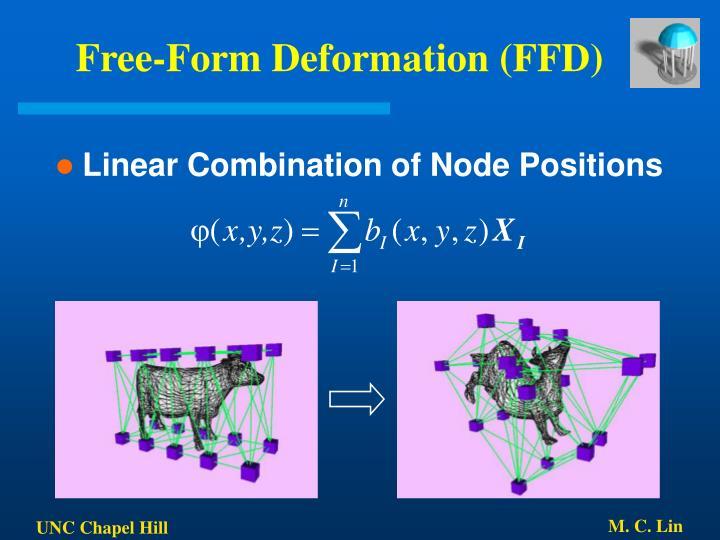 Free-Form Deformation (FFD)