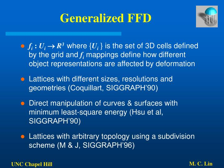 Generalized FFD