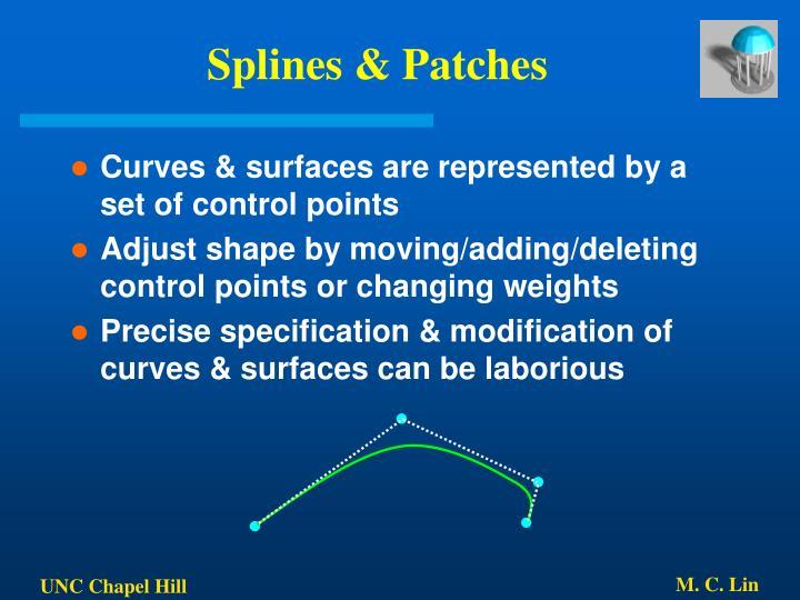 Splines & Patches