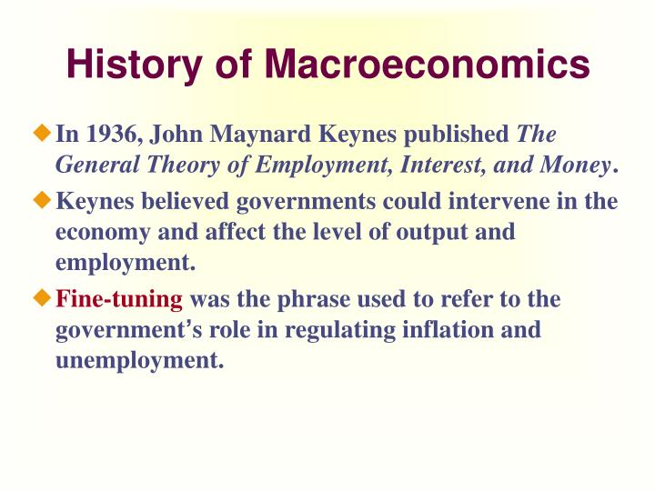the theory and policy of macroeconomics on inflation rate Monetary policy and its effects on macroeconomic factors such as gdp, unemployment, inflation, and interest rates in unemployment inflation and interest rate.