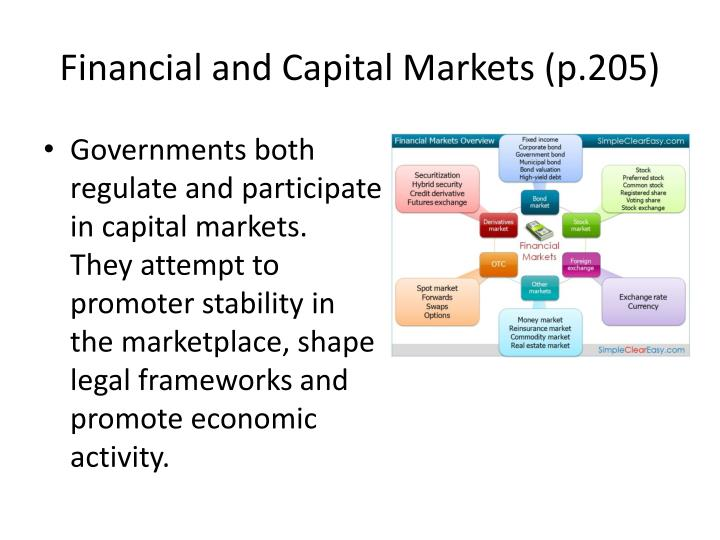 Financial and Capital Markets (p.205)