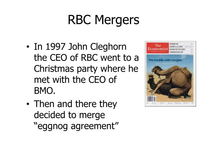 RBC Mergers