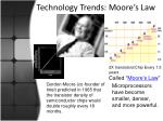 technology trends moore s law