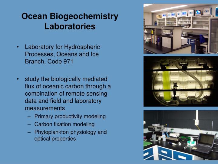 Ocean Biogeochemistry Laboratories