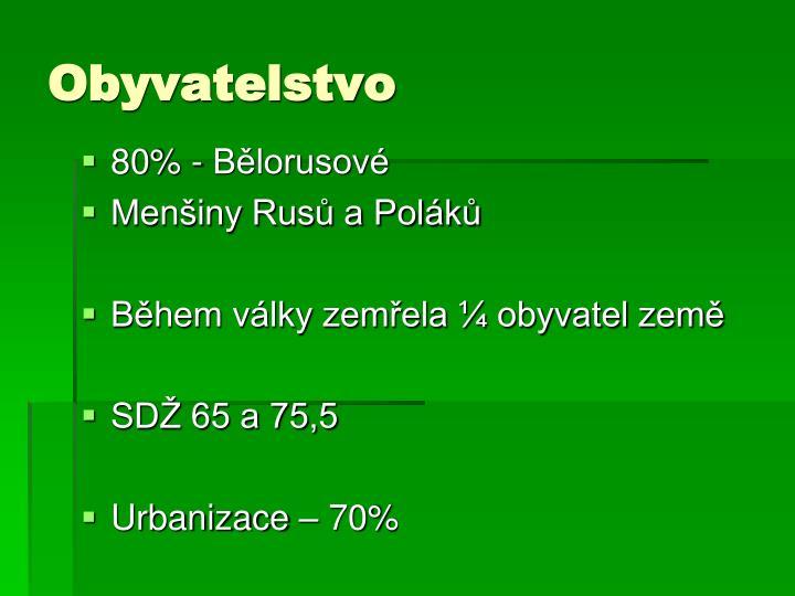 Obyvatelstvo