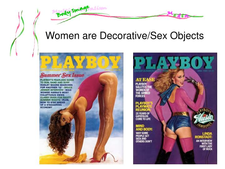 Women are Decorative/Sex Objects