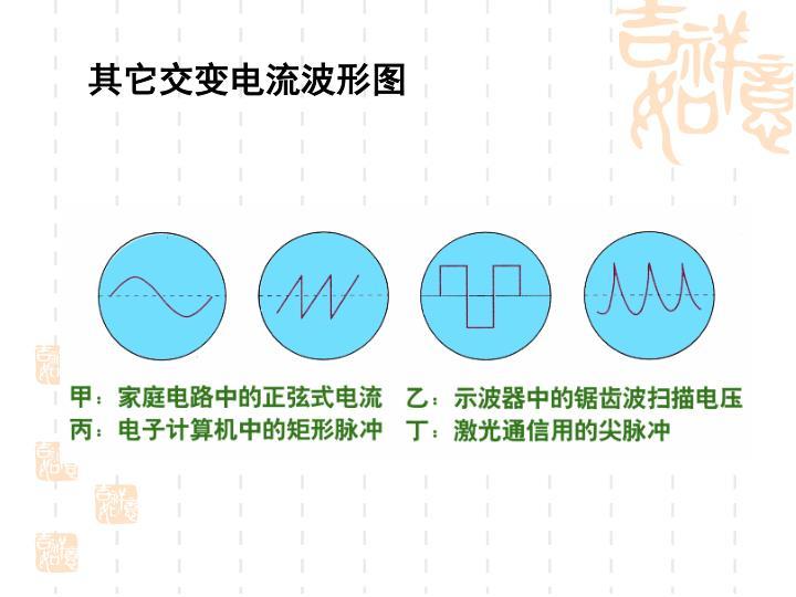 其它交变电流波形图