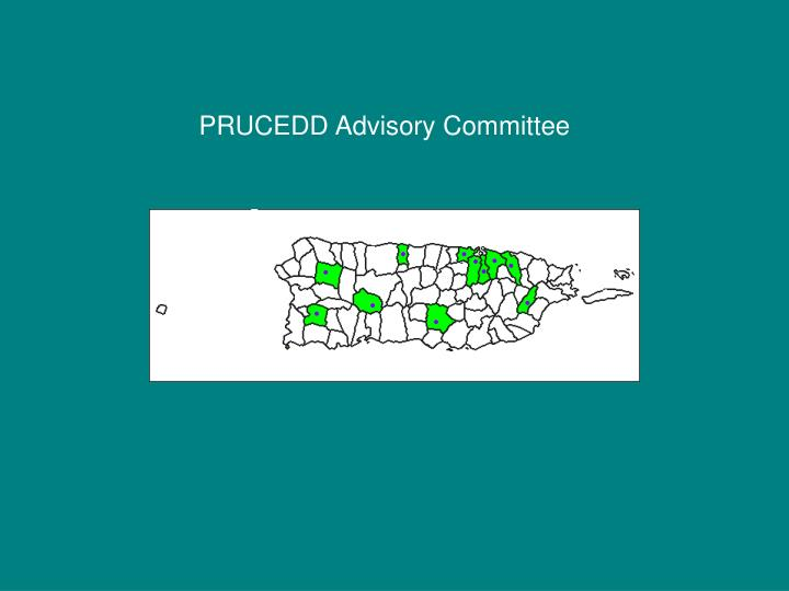 PRUCEDD Advisory Committee