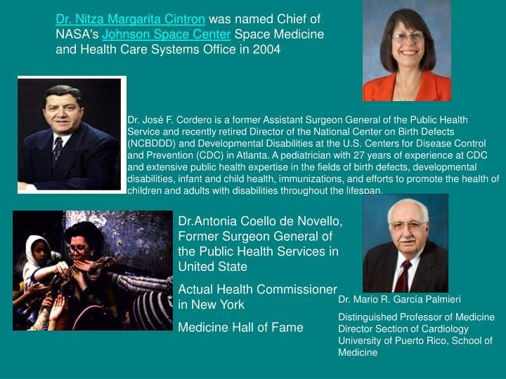 Dr. Nitza Margarita Cintron