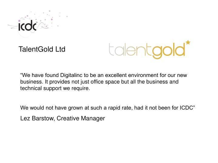 TalentGold Ltd