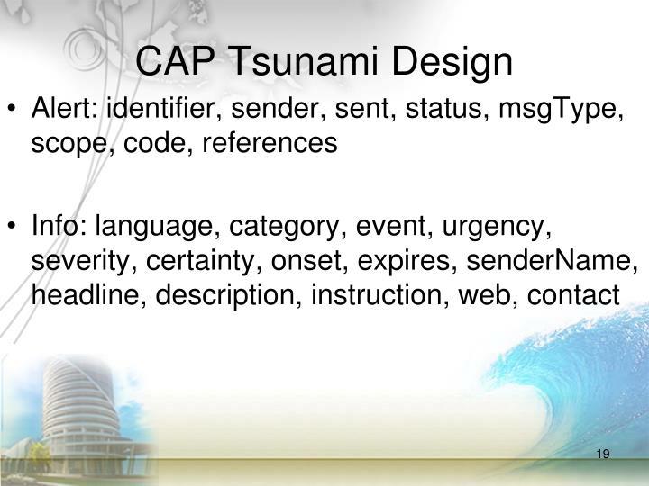 CAP Tsunami Design