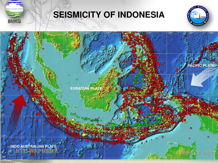 SEISMICITY OF INDONESIA