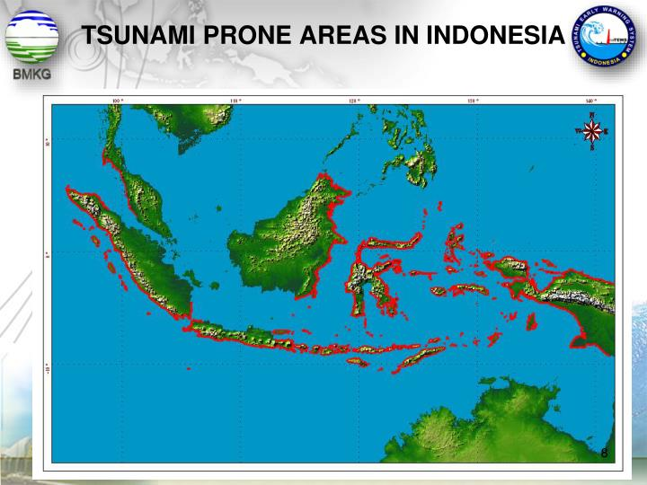 TSUNAMI PRONE AREAS IN INDONESIA
