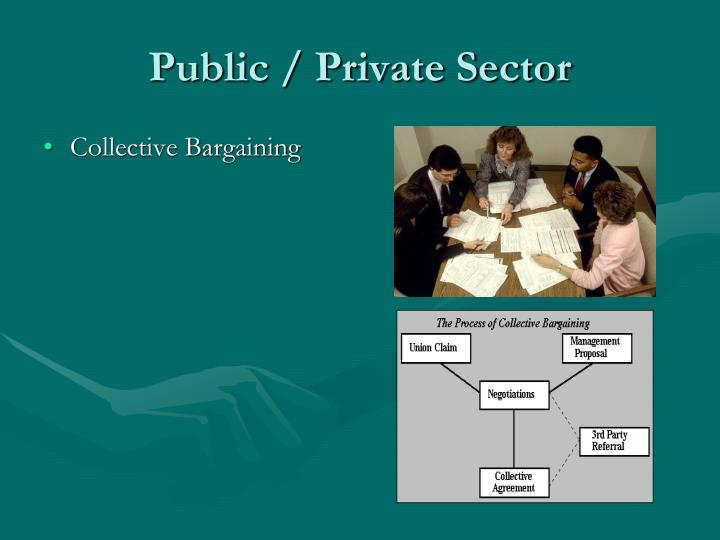 Public private sector