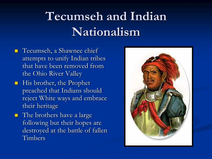 Tecumseh and Indian Nationalism