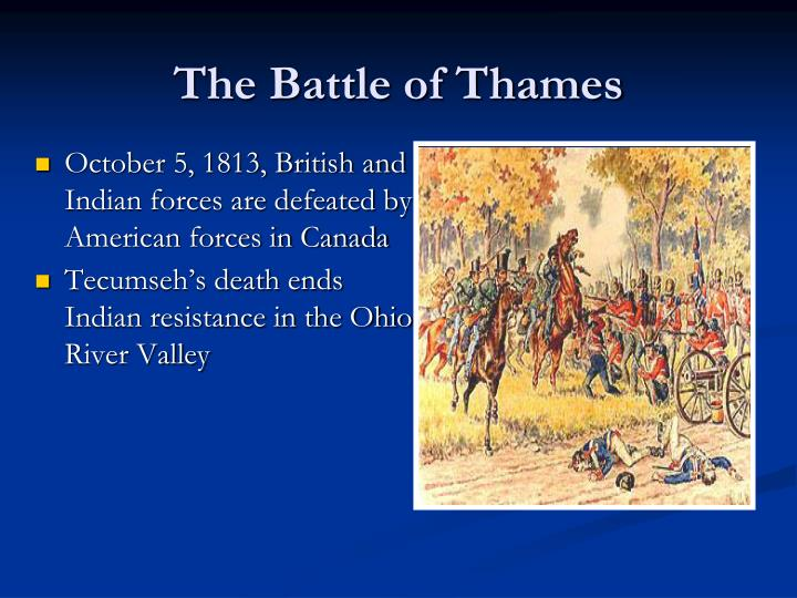 The Battle of Thames