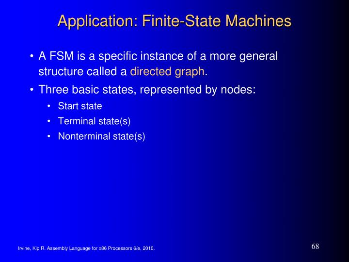 Application: Finite-State Machines