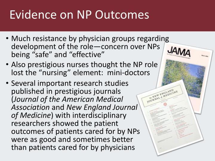 Evidence on NP Outcomes