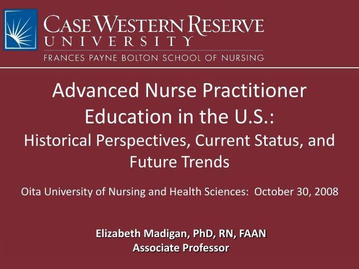 Advanced Nurse Practitioner