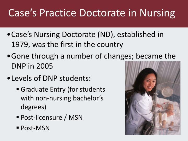 Case's Practice Doctorate in Nursing