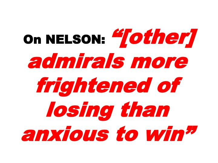 On NELSON: