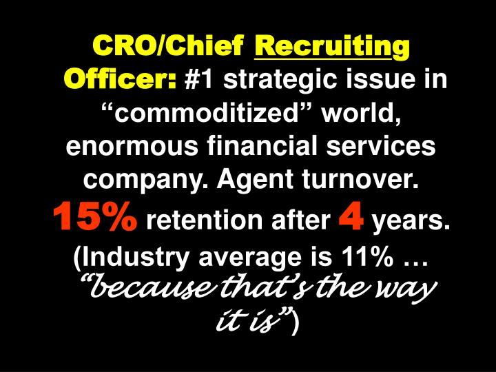 CRO/Chief
