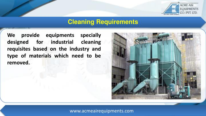 Cleaning Requirements