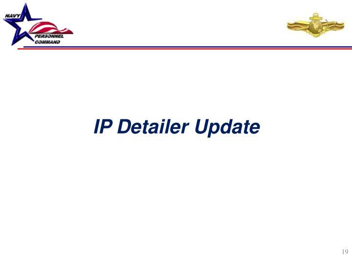 IP Detailer Update