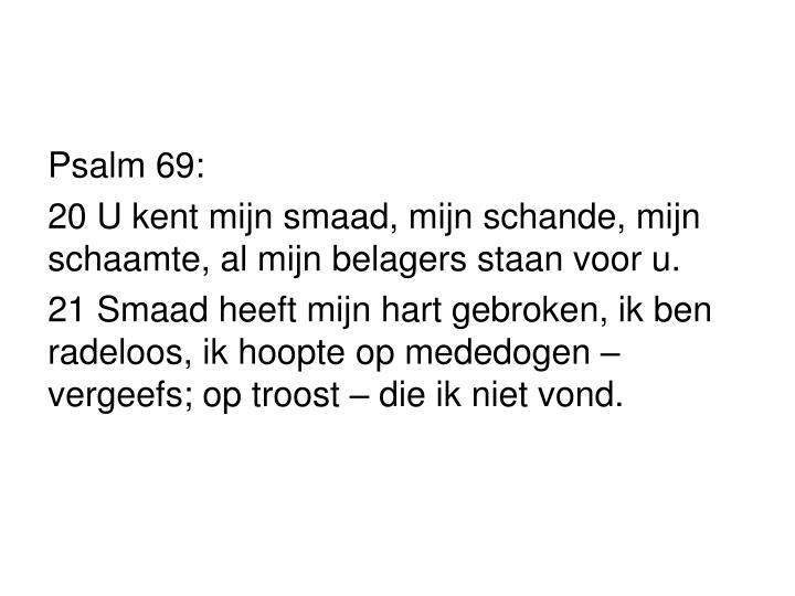 Psalm 69: