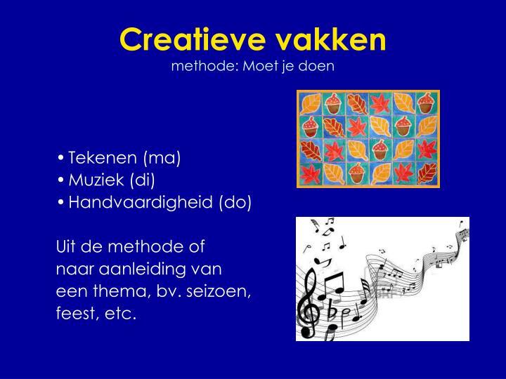 Creatieve vakken