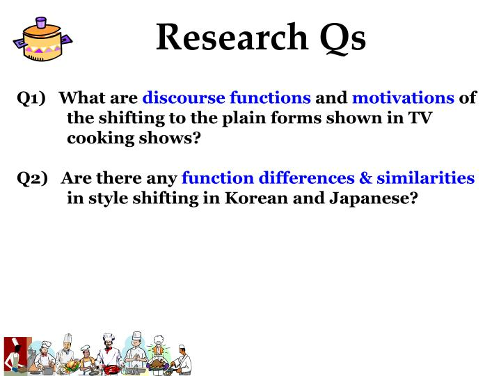 Research Qs