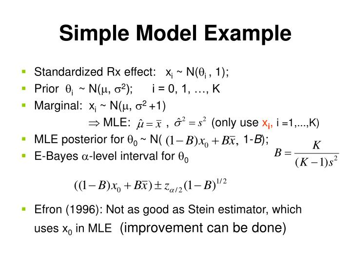 Simple Model Example